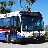 SamTrans hybrid bus