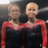 Menlo Park level 5 gymnasts