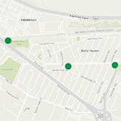 additional air quality monitoring locations in Belle Haven neighborhood