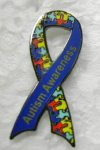 Police show support for National Autism Month