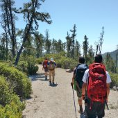 3 day, team building, backpacking excursion