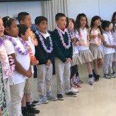 Beechwood first-graders visit the Menlo Park Senior Center