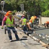 Final phase of Santa Cruz sidewalks starting