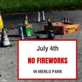 Reminder: Fourth of July fireworks are prohibited in Menlo Park