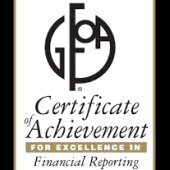 Government Finance Officers Association Recognizes City's Comprehensive Annual Financial Report