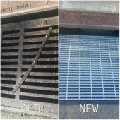 Increasing bike safety with new storm drain grates