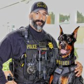"The popularity of police canine ""Duke"" continues to grow"