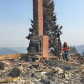 Menlo Park building inspector assists on Northern California Fires
