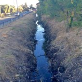 Winter Preparation of the Atherton Channel complete