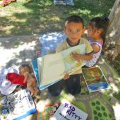 Raising a reader in the Belle Haven community
