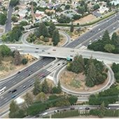 New Traffic Signals and Ramps at Willow Road & 101