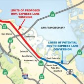 Provide Input on U.S. 101 Managed Lanes Project