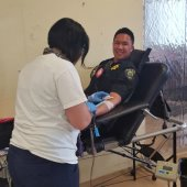 Battle of the Badges blood drive is a success