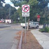 Enforcement of turn restrictions in Willows neighborhood begins