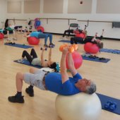 Fitness classes at the Arrillaga Recreation will help you achieve your new year's resolutions