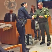 Napa County Sheriff thanks San Mateo County first responders