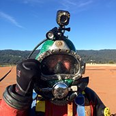 Divers complete reservoir inspections and cleaning