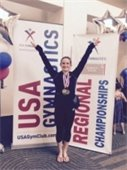 Menlo Park Gymnasts compete at Regional Championships