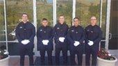 Menlo Park welcomes five police academy graduates