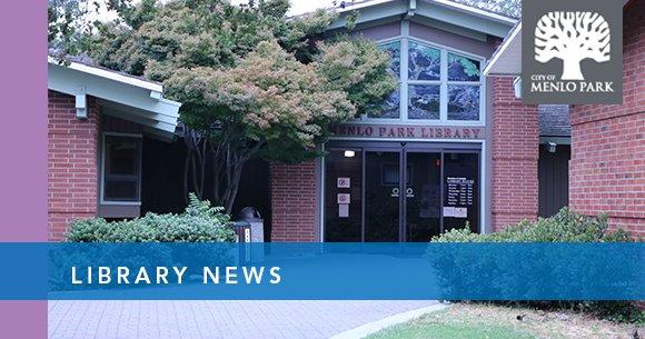 Menlo Park Library News header