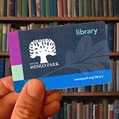 Menlo Park Library Card