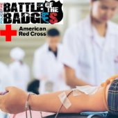 "Police and Fire face off for ""Battle of the Badges"" blood drive"