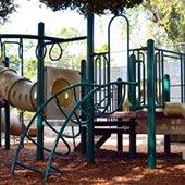 empty playground equipment