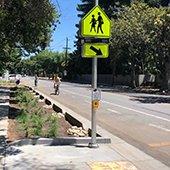 Oak-Grove-Avenue-bike-and-stormwater-improvements