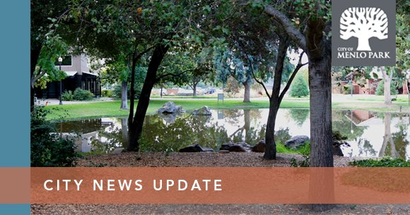 CITY NEWS UPDATE - picture of Burgess Park duck pond