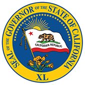Governor of State of California seal logo