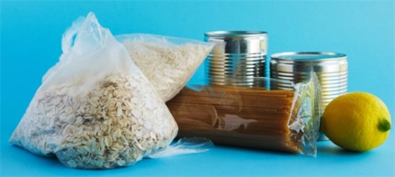 food staples including oatmeal, pasta canned goods - food assistance in Menlo Park