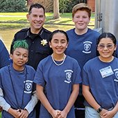 community youth police academy graduates