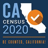 Be Counted California 2020 Census logo
