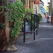 downtown menlo park sidewalk