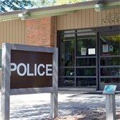 Recepción de Bienvenida en el Departamento de Policía