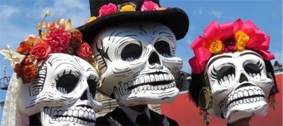 Virtual Halloween and Día de los Muertos