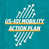U.S. 101 Mobility Action Plan logo