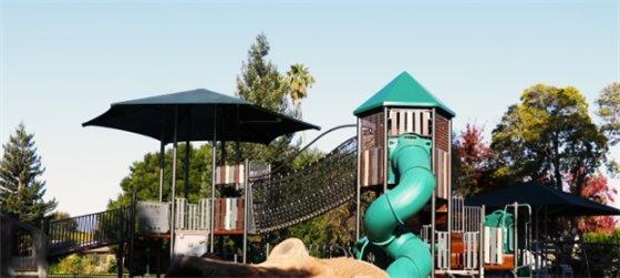 Empty playground at Nealon Park