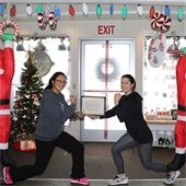Menlo Integrative Training/CrossFit Five Branches named winner of Holiday Display Contest