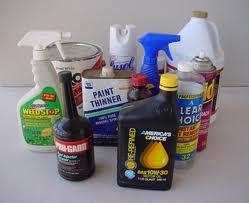 Hazardous household items