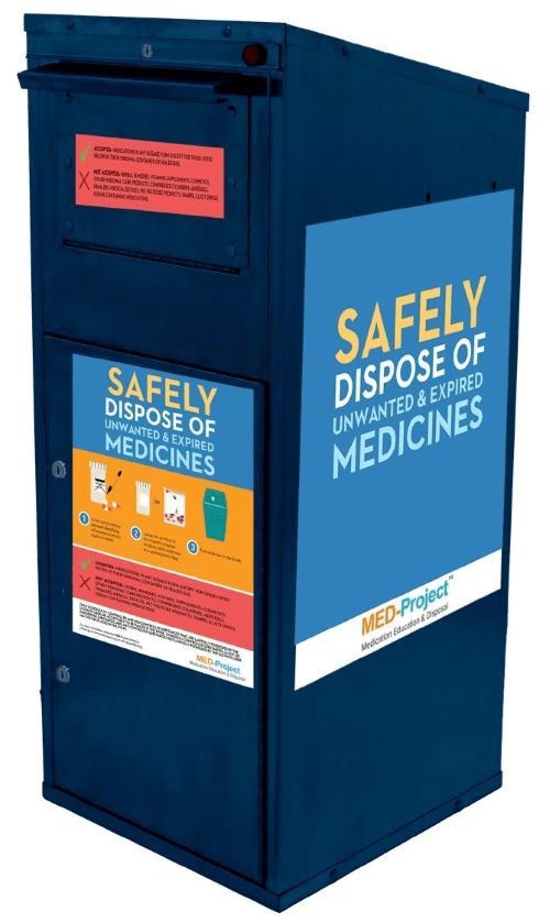 medication disposal kiosk