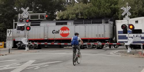 Blog--Bicyclist-at-Menlo-Park-station